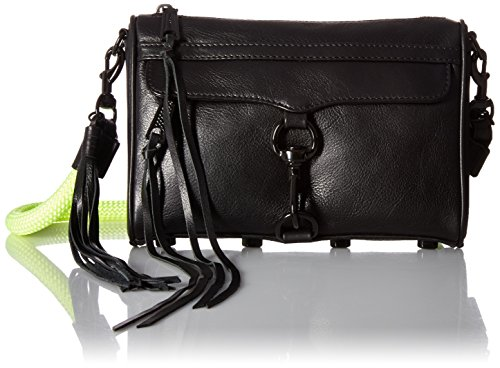 Climbing Rebecca Minkoff Black Rope with Mini Mac 1vavqw
