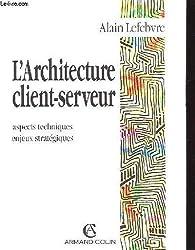 L 39 architecture client serveur aspect techniques enjeux et for Architecture client serveur