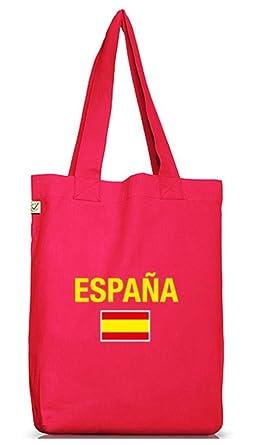 Camiseta street24, EM/WM 19 - Espana, España Spain yute Bolsa ...
