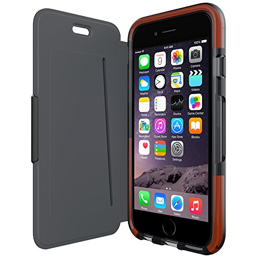 Tech21 Classic Shell Wallet for iPhone 6 - Black (Get School Closings Sent To Your Phone)