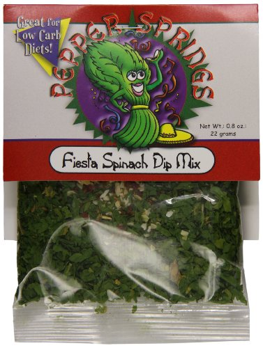 (Pepper Springs Fiesta Spinach Dip Mix, 0.8 Ounce)