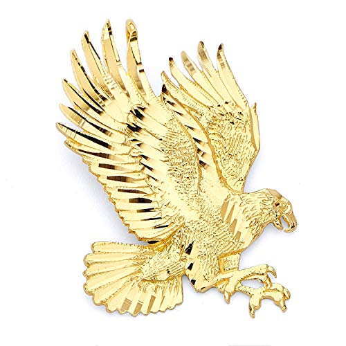 14k Yellow Gold Eagle