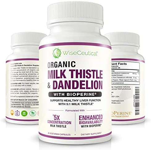Absorption Organic Milk Thistle Strongest