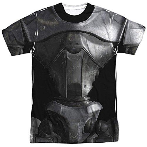 Cylon 6 Costume (Battle Star Galactica- Centurion Costume Tee (Front/Back) T-Shirt Size XXXL)