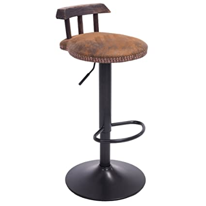 Strange Amazon Com Adjustable Retro Bar Chairs Small Stools Bar Caraccident5 Cool Chair Designs And Ideas Caraccident5Info