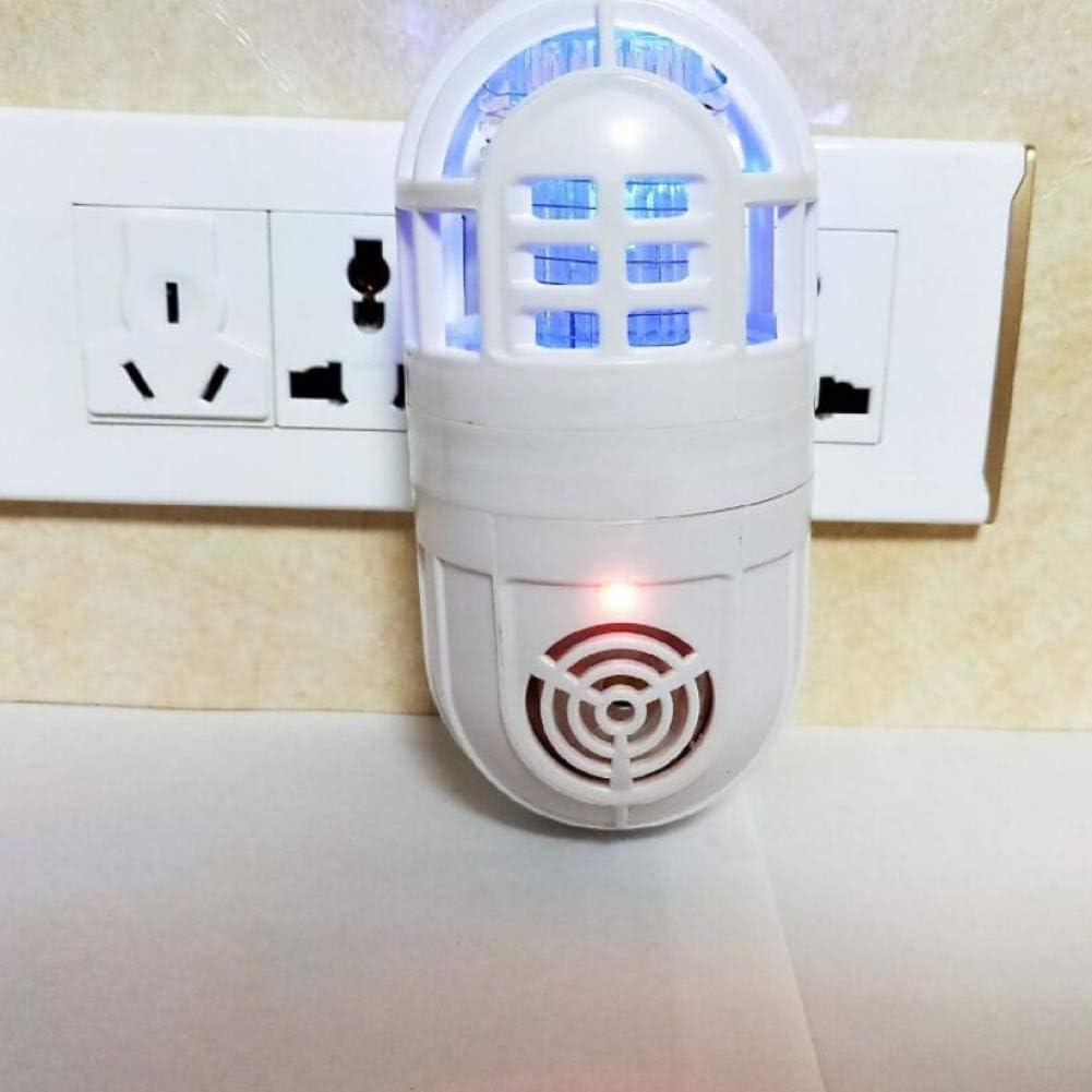 AHNPX White Ultrasonic Soundwaves Electronic Mosquito Pest Killer ...
