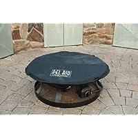 Del Rio Gartenkamin schwarz XL Garden Oven Garten ✔ rund ✔ Grillen mit Holzkohle