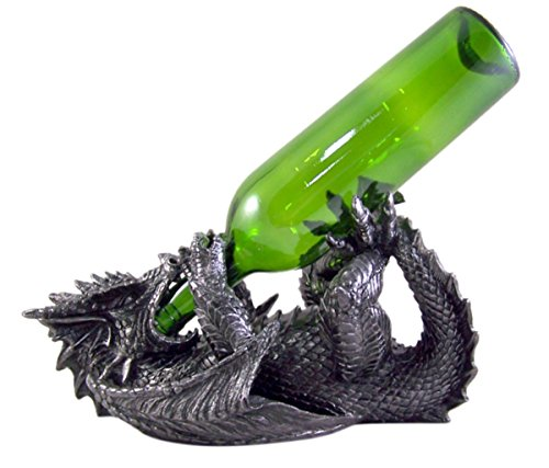 Gothic Dragon Wine Bottle Holder 6 3/4 Inch by Dragon Wine Display (Image #6)