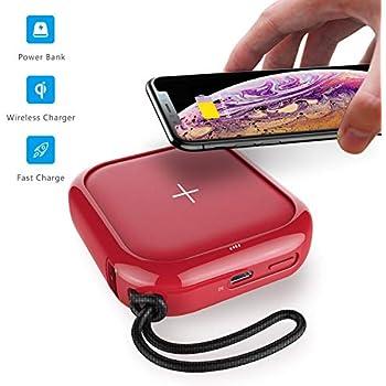Amazon.com: MIPOW - Cargador portátil inalámbrico de 5000 ...