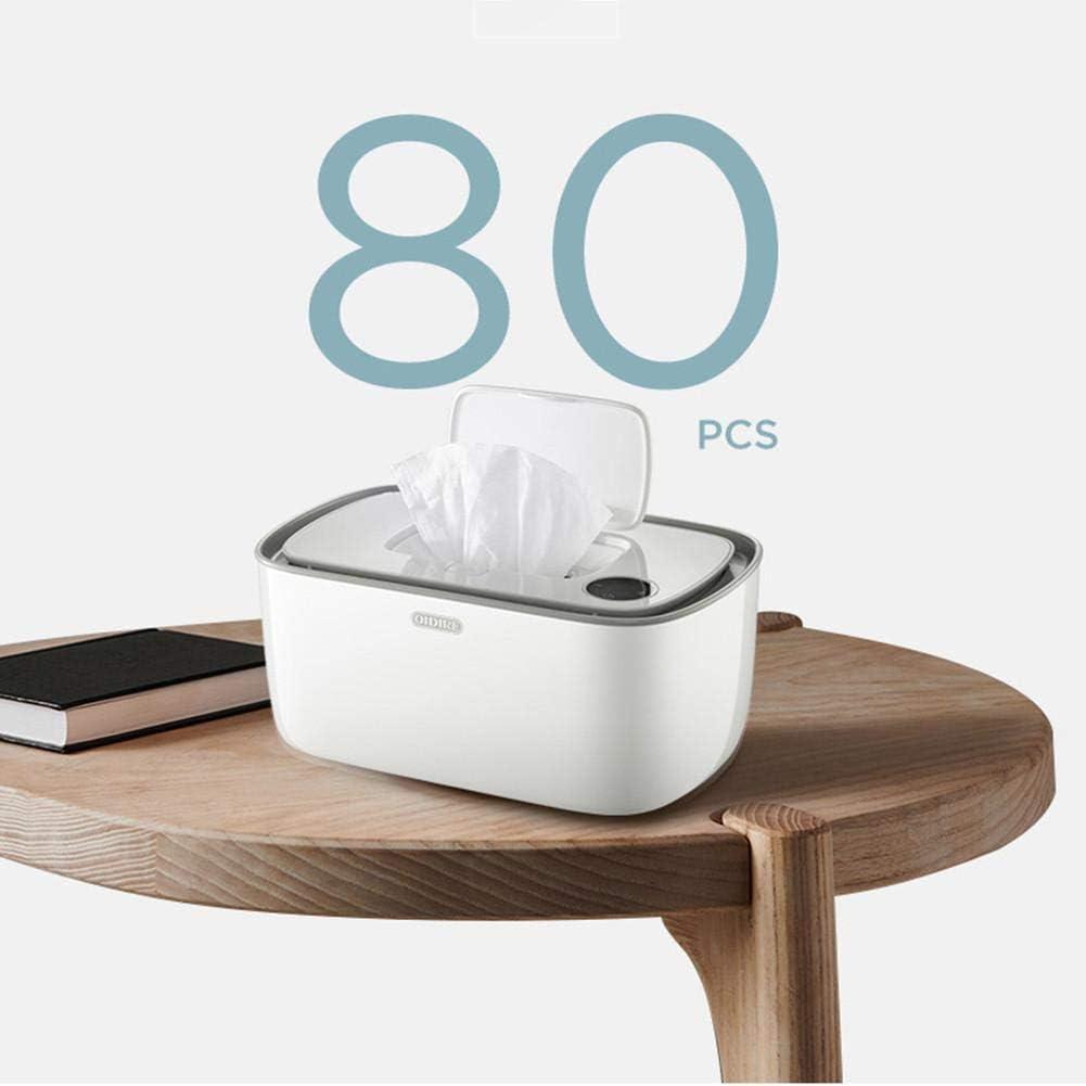 Haushalt-bewegliche Wipes Heizung Box Isolierung Container mit der Universal Babyt/ücher Heizung HDDD Wipe-W/ärmer und Baby-Feuchtt/ücher Spender-Halter