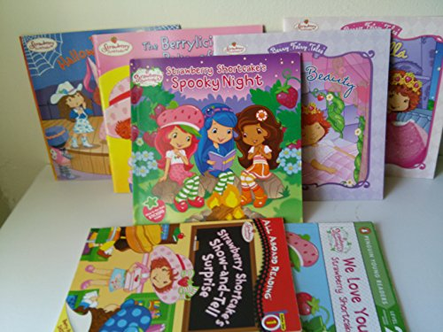 Book Sets for Kids : Strawberry Shortcake's Show and Tell Surprise; Spooky Night; Sleeping Beauty; We Love You; Halloween; the Berrylicious Bake Off (Children Book Sets : Level 1 & 2)