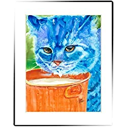 Rainbow Card Company Matted Print, 11 by 14-Inch - Chumley