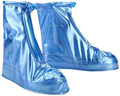 donna CCZZ Blau Neutral impermeabile protezione antipioggia protezione copriscarpe da antiscivolo scarpe ciclisti uomo scarpe scarpe pioggia per per protezione RwAt4qw