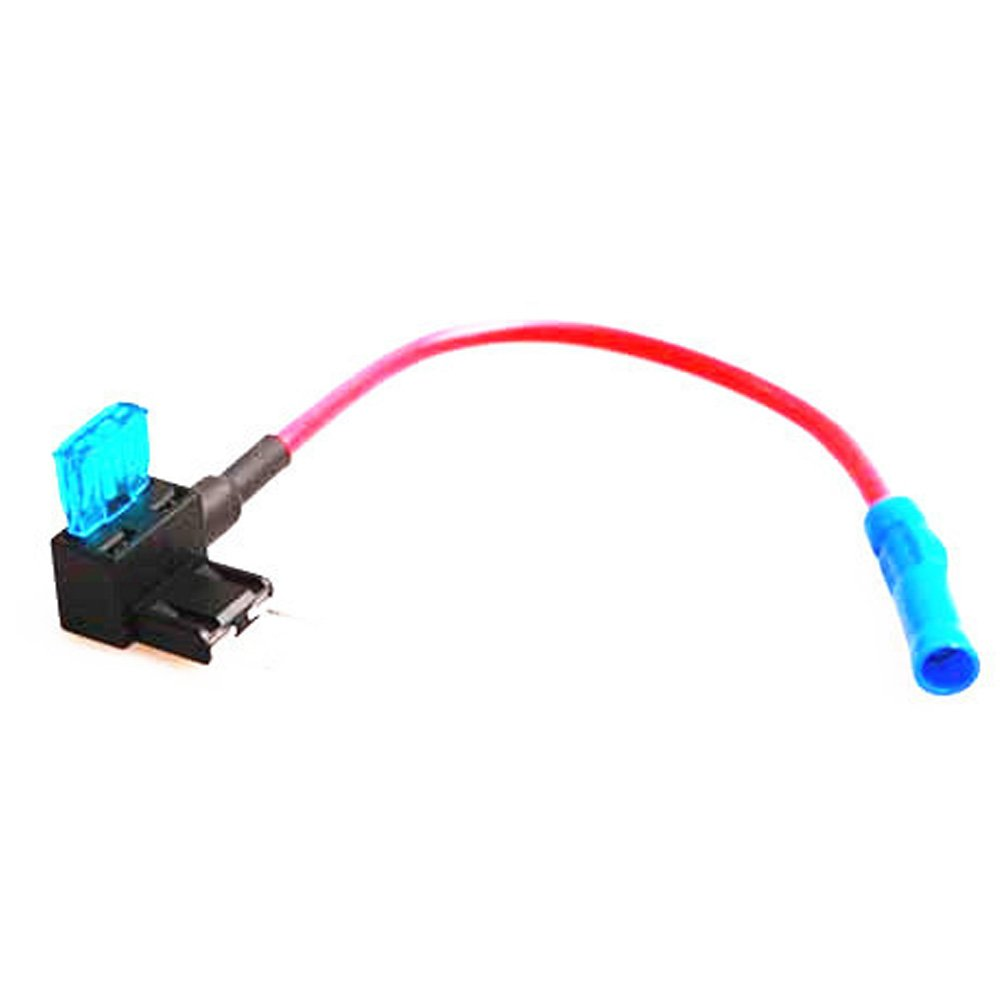 HOUTBY Car Auto 12V 24V ATM APM Add A Circuit Fuse Tap Piggy Mini Fuse Blade Holder Socket