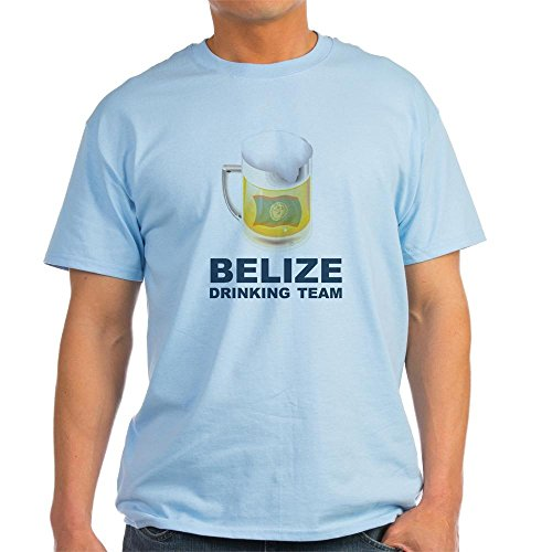 CafePress Belize Drinking Team Light T-Shirt - 100% Cotton T-Shirt (Team T-shirt Light Drinking)