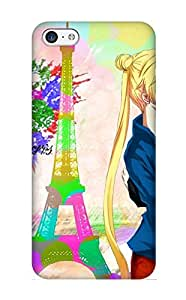Iphone 5c Case, Premium Protective Case With Awesome Look - Anime Sailor Moon(gift For Christmas)