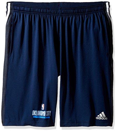 NBA Oklahoma City Thunder Adult Men Enough Said Team Issue Short, Large, (Adidas Mens Nba Performance Short)