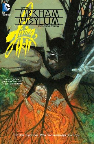Batman: Arkham Asylum Living Hell Deluxe Edition (Batman A Serious House On Serious Earth)