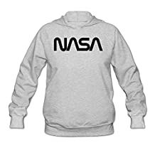 WLCXQCT Women's NASA Logo Hoodie