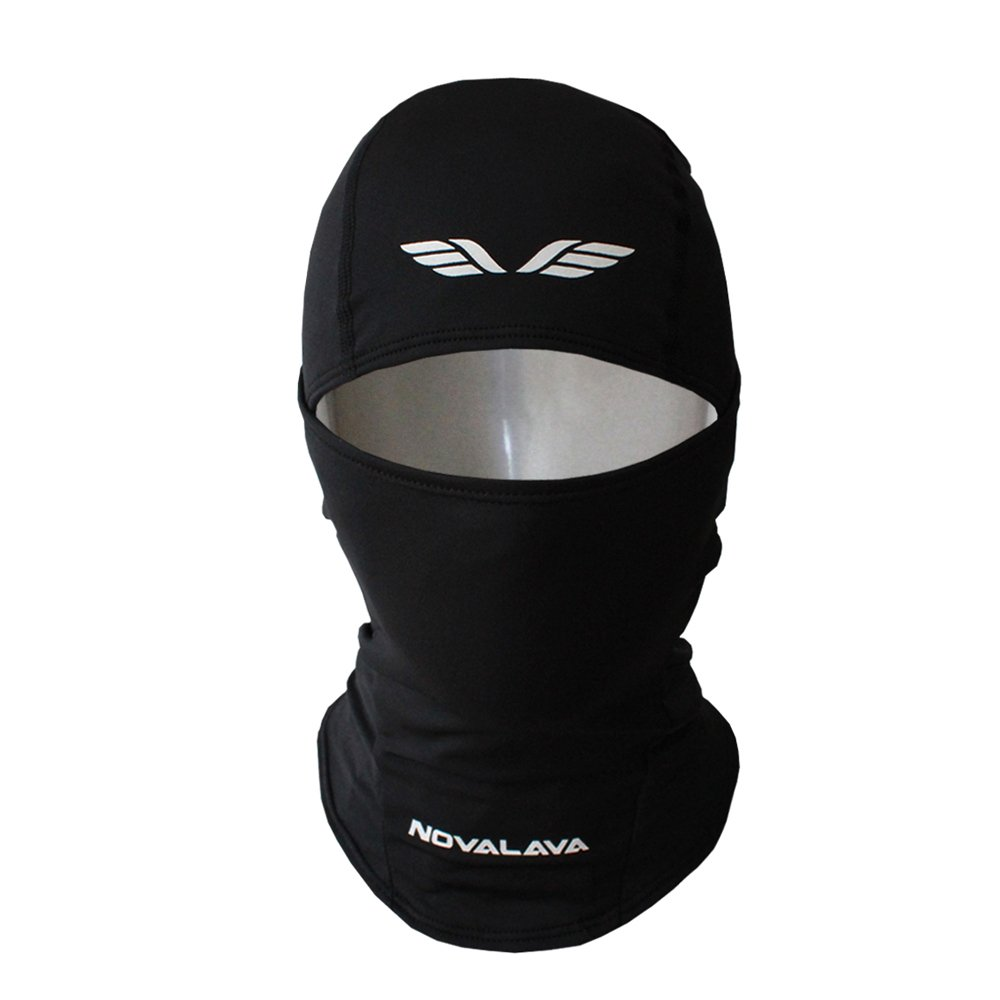 [NovaLava] Thin Multi Functional (Full orHalf) Balaclava Sports Face Mask Beanie Nova BALACLAVA BLACK 222 100G