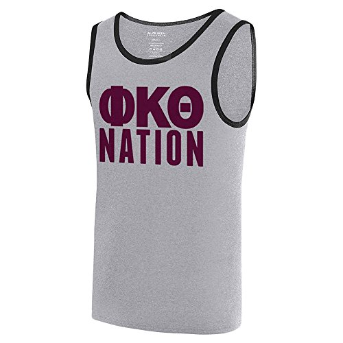 Phi Kappa Theta Fraternity Nation Ringer Tank X-Large Athletic ()
