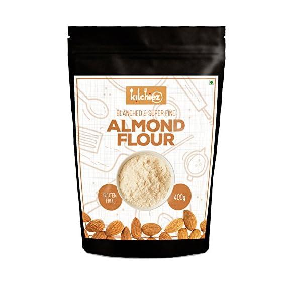 Kitchiez Blanched Fine Almond Flour, 400g