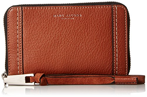 Marc Jacobs Maverick Zip Phone Wristlet, Cognac by Marc Jacobs