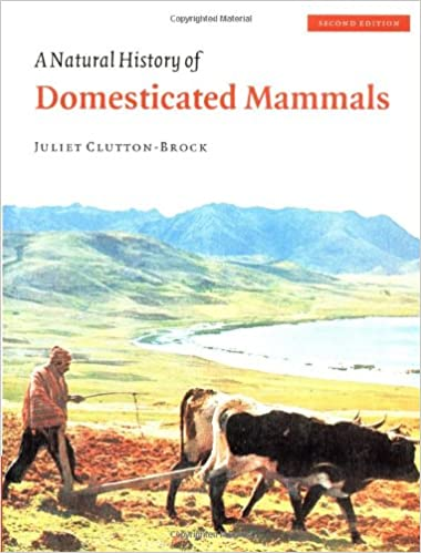 amazon com a natural history of domesticated mammals 9780521634953