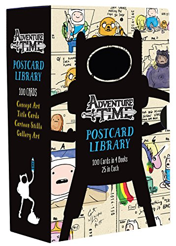 (Adventure Time Postcard Library: 100 Cards in 4 Books, 25 in Each)
