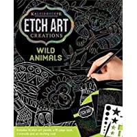 Kaleidoscope Etch Art Creations: Wild Animals