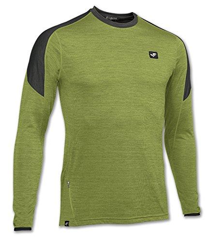 Joma - Camiseta outdoor verde m/l para hombre
