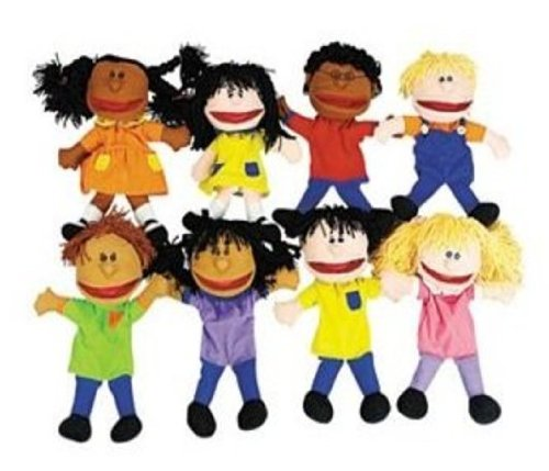 Fun Express Puppets Multi Ethnic Collection