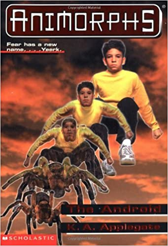 the android animorphs no 10 k a applegate 9780590997300