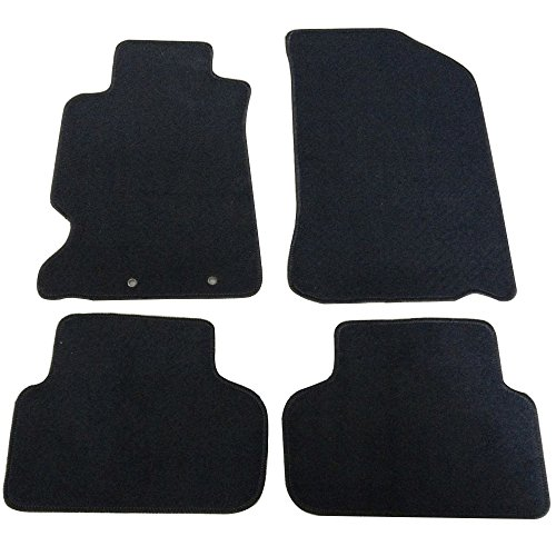 Floor Mats Fits 2002-2006 Acura RSX | 2Dr Factory Fitment Car Floor Mats Front & Rear Nylon by IKON MOTORSPORTS | 2003 2004 2005