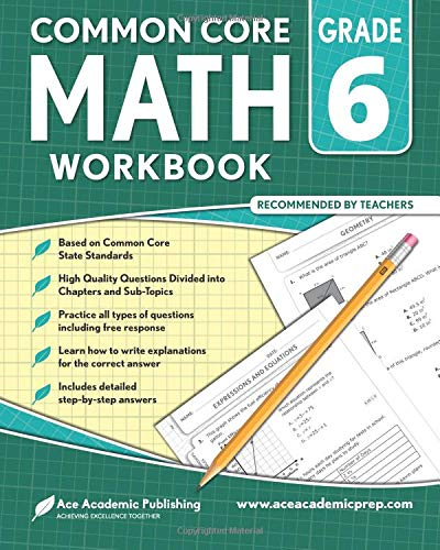 Pdf Teaching 6th grade Math Workbook: CommonCore Math Workbook