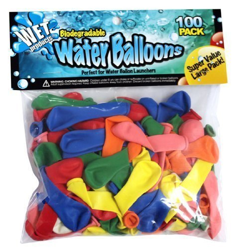 (Wet Products - Biodegradable Water Balloons 100 Pack (2))