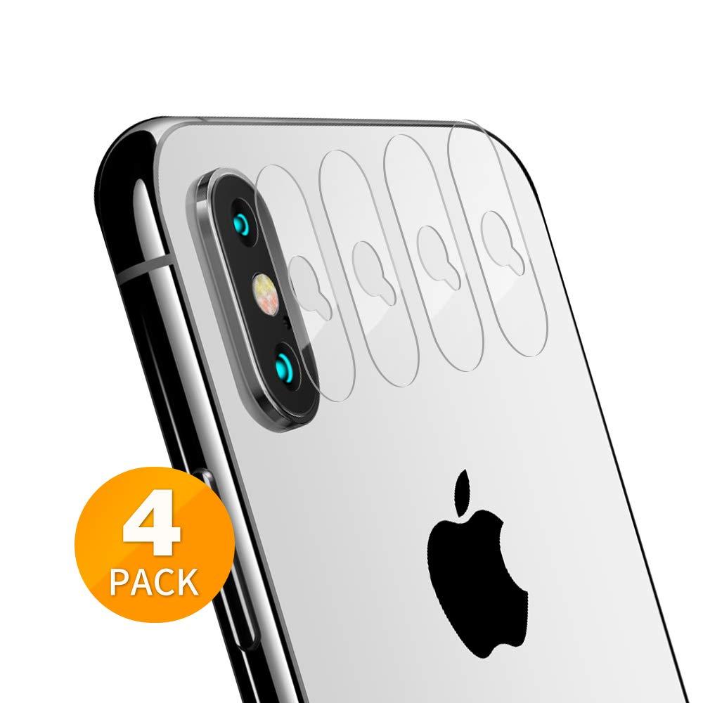 Protector Lente Para Iphone Xs Max [4 Un.] TENSEA