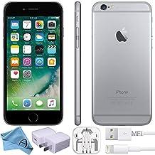 Apple iPhone 6 Factory Unlocked GSM 4G LTE Smartphone (Certified Refurbished) (Space Grey, 16 GB)