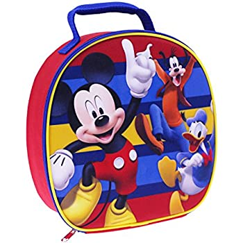 Disney MC29335-SC-RE00 Mickey Dome Lunch Kit Insulated, Red
