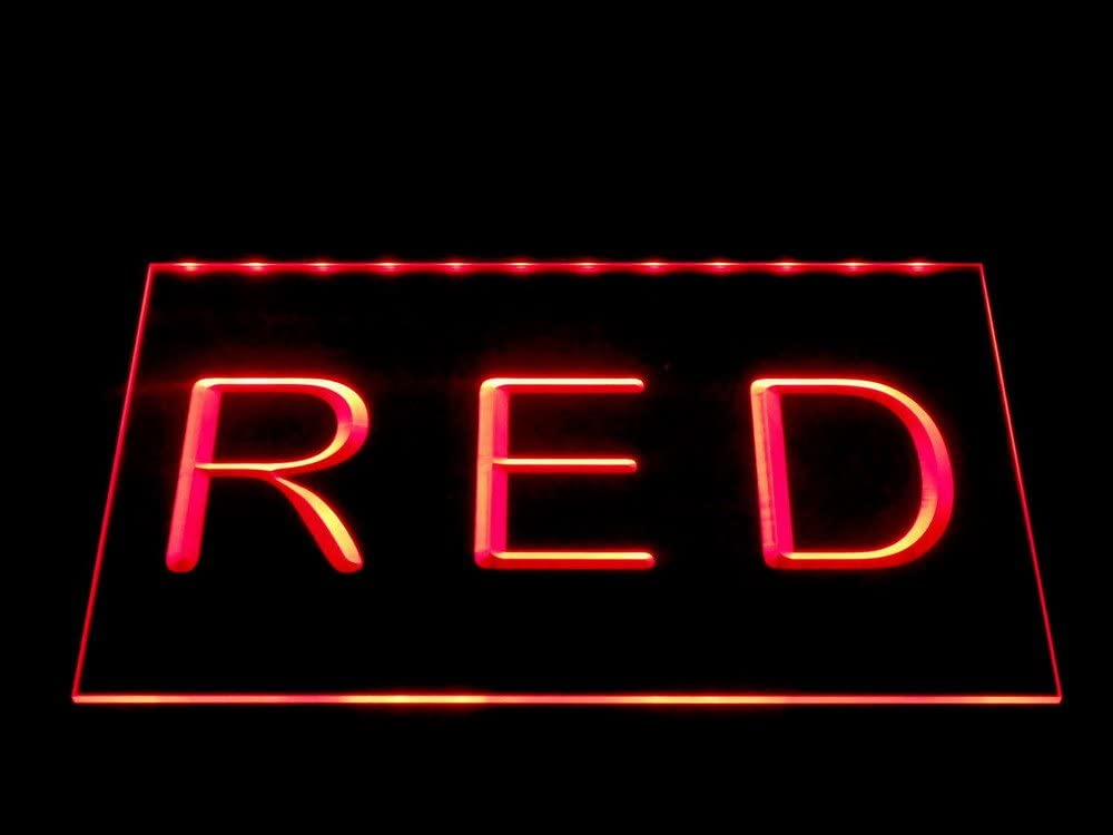 ADVPRO Warning What Happen Miami Mall in Man Cave Stay 12 Neon Sign Red LED Popular