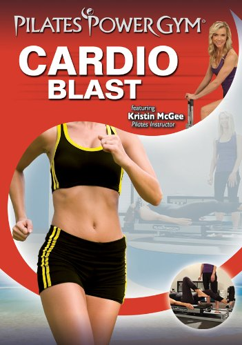 Pilates Power Gym PLUS Cardio Package Upgrade (Power Flex Cardio Rebounder with Cardio Blast DVD)
