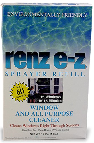 Renz E-Z All Purpose Window Washer Sprayer Refill Boxed 16 (Boxed Window Glass)