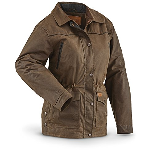 (Outback Trading Women's Round Up Jacket from Company, Bronze)