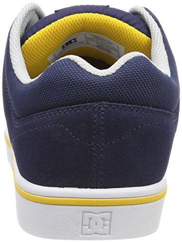 Schwarz Course DC Yellow Blau Ny0 Navy Homme Shoes Baskets Noir 2 qCxU5Y6wx
