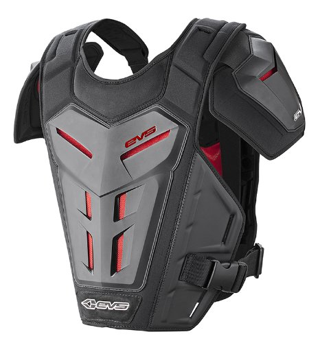 EVS Sports REVO 5 Roost Guard (Black, Small/Medium)