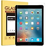 "New iPad 9.7"" (2018 & 2017) / iPad Pro 9.7 Screen Protector, SPARIN Tempered Glass Screen Protector - Apple Pencil Compatible/High Definition/Scratch Resistant"