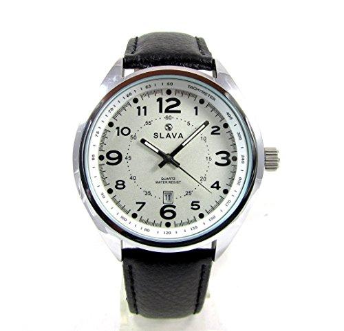 Analog Quartz Waterproof Calendar Mens Wrist Watch