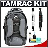 Tamrac 5587 Expedition 7x Digital SLR Camera and Laptop Backpack (Black/Gray) with Lenspens + Accessory Kit for Canon EOS 70D, 6D, 5D Mark III, Rebel T3, T5i, SL1, Nikon D3100, D3200, D5200, D7100, D600, D800, Sony Alpha A65, A77, A99, Best Gadgets