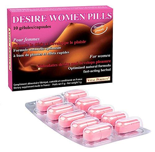 « Desire Women pills » neue Formel für Lust und Libido - 10 Kapseln Aphrodisiaka für Frauen