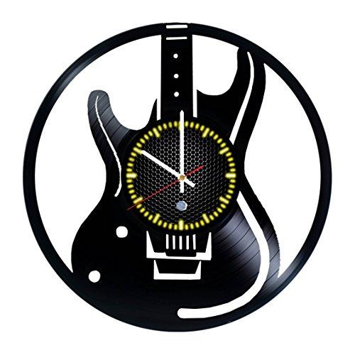 Guitar Music Vinyl Record (LP) Wall Clock Home Decor Gift Idea (Style 3)